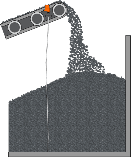 Pilha de Estocagem de Carvão