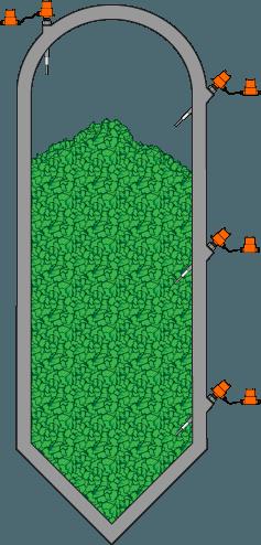Silo Médio para Sólidos a Granel