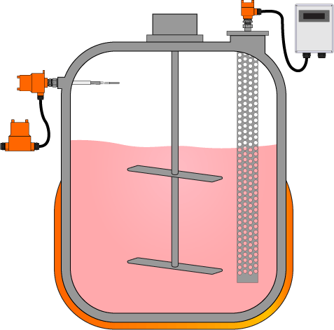 Tanque de Agitação e Mistura para Iogurte
