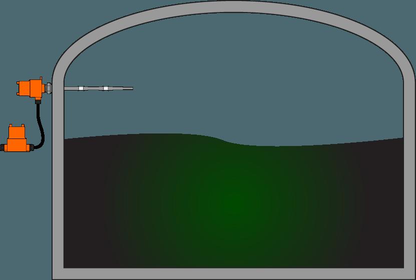 Tanque de Armazenamento de Líquidos Brutos