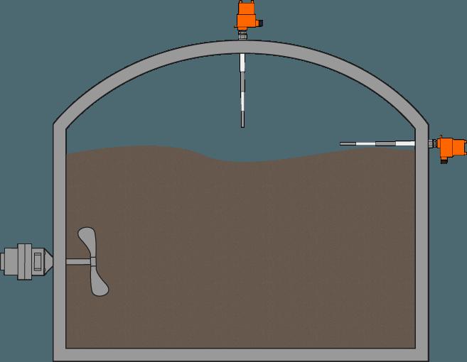 Tanque de Lama em Instalação de Biogás