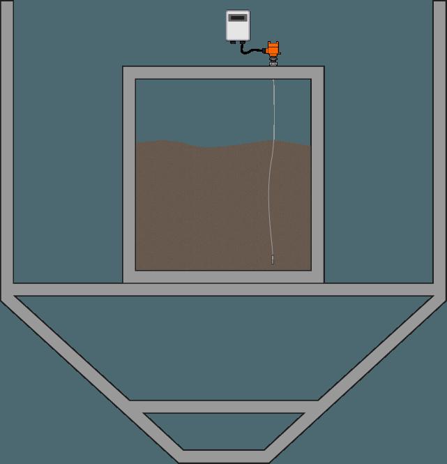 Tanque de Serviço com Água Cinza e Preta