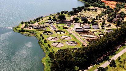 Indústria de Tratamento de Água e Esgoto